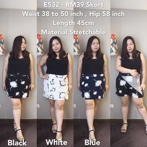 E532 Ready stock*Waist 38 to 50 inch/96-127cm