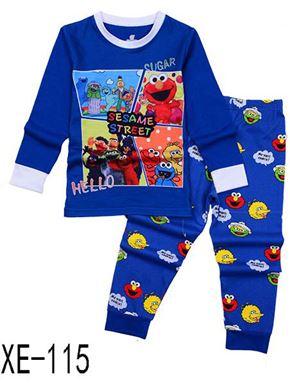 XE-115 'SESAME STREET'' Pyjama (2 - 7 tahun)