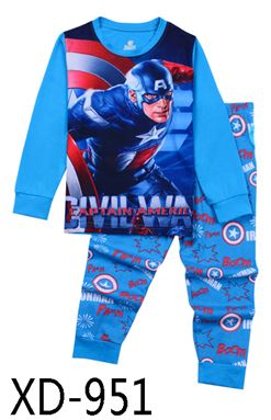 XD-951 'CAPTAIN AMERICA' KIDS PYJAMAS