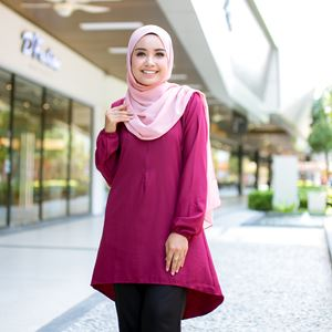 BLOUSE FELISHA - MAROON