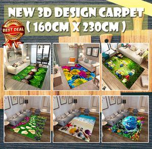 New 3D Design Carpet ( 160cm x 230cm )