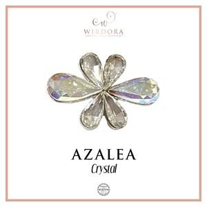 Brooch Azalea Crystal