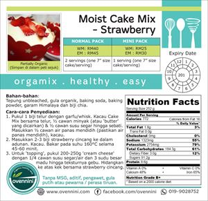Moist Cake Mix (Strawberry)
