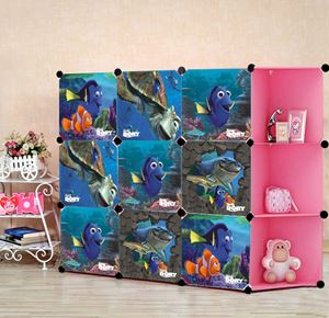 Nemo 9C Pink DIY Wardrobe (NE9CP)