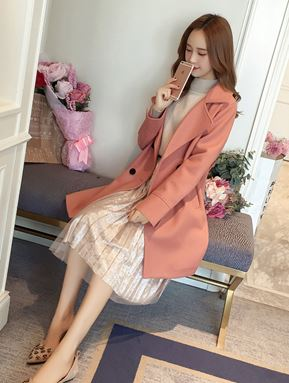 Autumn Woolen Coat