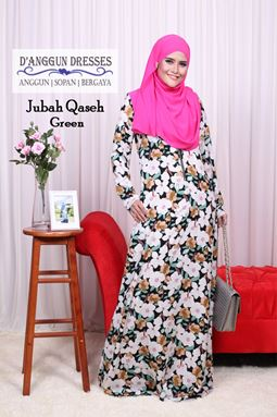 Jubah Qaseh Green
