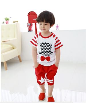 @ DEFECT ITEM - XZ5168 - RED BOY SET