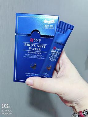 Ready stock -Korea Snp Bird nest sleeping pack 🇰🇷 🔥SNP 海洋燕窝补水💦睡眠面膜