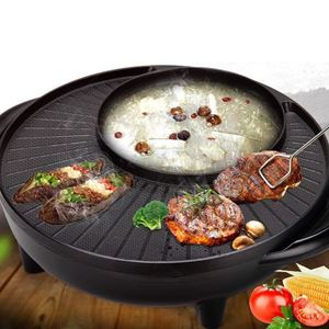 2 in 1 KOREAN NON-STICK GRILL AND STEAMBOT