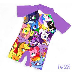 1428 Kids  Swimsuit (2 - 7 years old) - My Little Pony