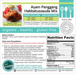 Ayam Panggang Habbatussauda Mix
