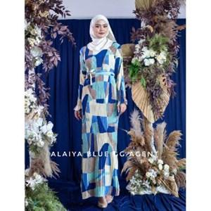 ALAIYA PLEATED DRESS