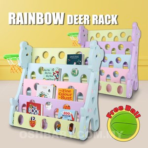 RAINBOW DEER RACK BASKETBALL N00527