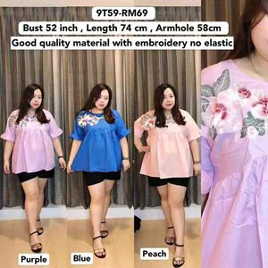 9T59 Ready Stock *Bust 52 inch/132cm