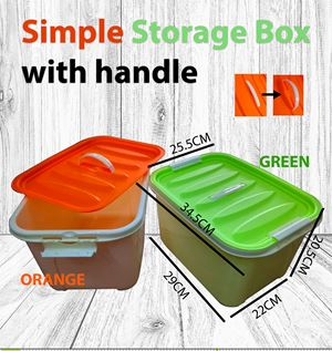 Simple storage box toys / clothes / sock / container