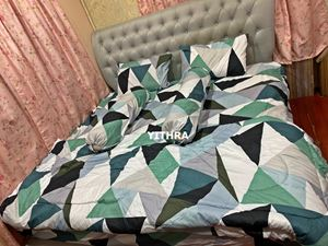 SET COMFORTER - DIAMOND GREEN