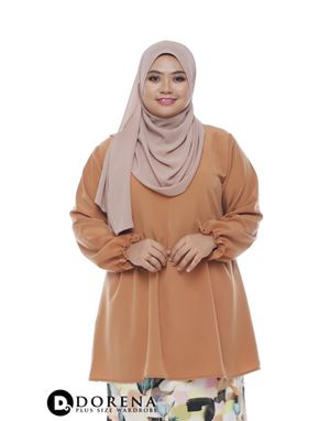 AUTUMN Blouse Light Brown