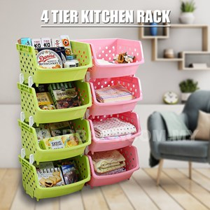 4 Tier Kitchen Rack