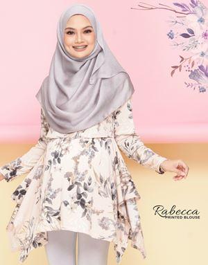 Rabecca Blouse Printed - Cream