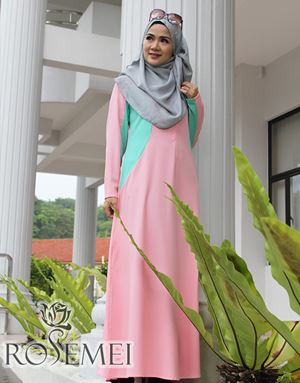 CATALIA DRESS - SOFT PINK
