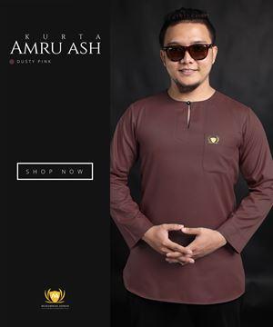 KURTA AMRU ASH (DUSTY PINK)