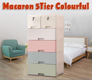 50cm Macaron 5Tier Colourful
