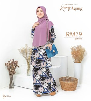 KURUNG AGUNG IRONLESS PRINTED IN GEMINI