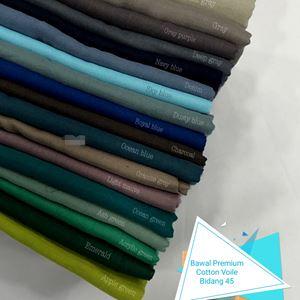 Bawal Premium Cotton Voile Bidang 45 (5) sky blue