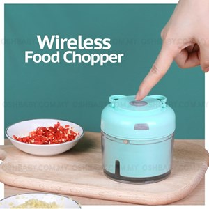 ETA 10 MAY 21 WIRELESS FOOD CHOPPER
