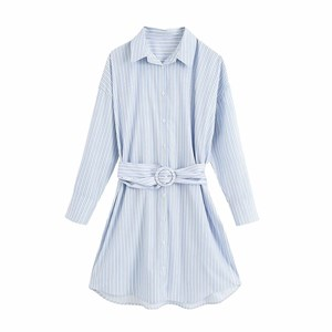 LIGHT BLUE STRIPES TUNIC