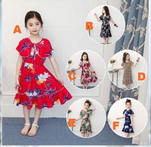 GB18400-2013    FLORAL DRESS DESIGN 2  ( SIZE 100-140 )