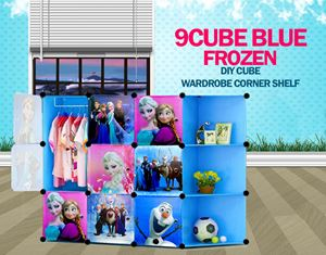 Frozen Blue 9C DIY Cube (FZ9CB)
