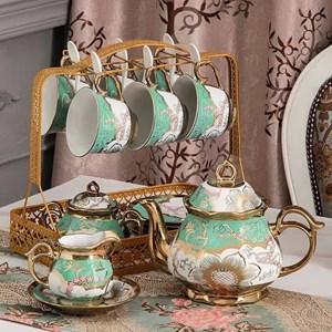 17 pcs Vintage Ceramic Tea Pot