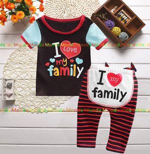 Baby Pyjamas - I Love My Family