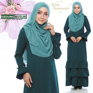 JUBAH SUMAYYAH - EMERALD  COLOR