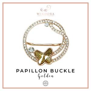 Buckle Papillon Golden Shadow