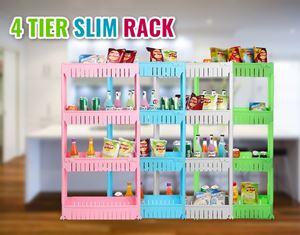 4 Tier Kitchen Slim Rack