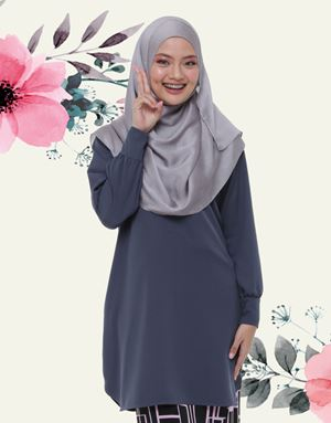 Emyra Blouse - Slate Grey