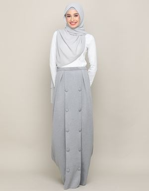 JESSICA SKIRT IN GREY