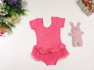 @ P2047 PINK ROMPER DRESS