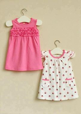 G074/12 MOM & BAB DRESS- DESIGN A  ( 2 IN 1 )