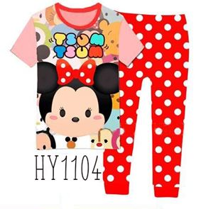HY1104 Minnie Tsum Tsum Pyjamas