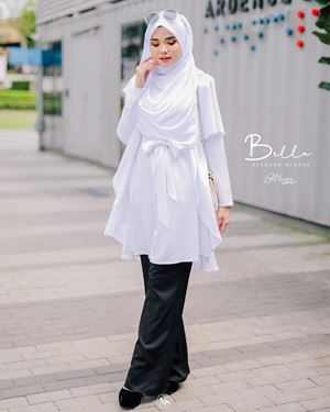 BLOUSE BELLA - OFF WHITE