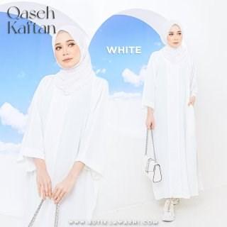 QASEH KAFTAN WHITE