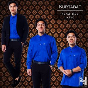 Kurtabat by HANA (Royal Blue)