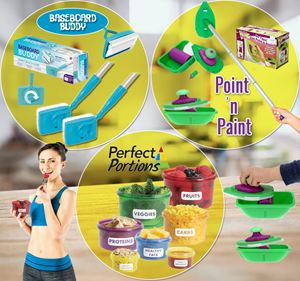 Point&Paint + Baseboard Buddy + Perfect Portion SET