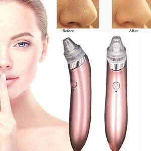 Facial Skin Care Acne Blackhead Remover Vacuum Suction Pore Clean Machine (5 LEVEL SPEED)