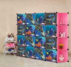 Nemo Pink 16C DIY Cube w Corner Rack (NE16CP)