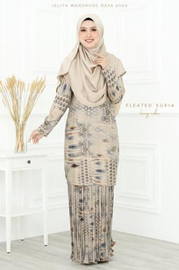 KURUNG SURIA PLEATED IN KUNDUR