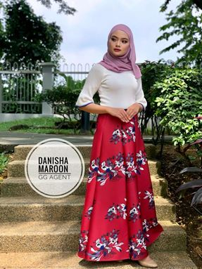 Danisha princess skirt